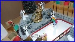 Dept. 56 Christmas In The City 52504 Animated Rockefeller Plaza In Original Box