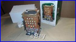 Dept. 56 Christmas In The City 59272 Ferrara Bakery-cafe In Original Box