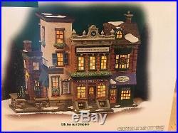 Dept 56 Christmas In The City 5th Avenue Shoppes Nib