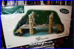 Dept 56 Christmas In The City- Brooklyn Bridge-#59247-Historical Landmark Seri
