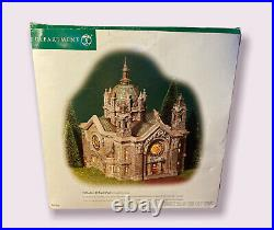 Dept 56 Christmas In The City, CATHEDRAL OF ST. PAUL (Patina Dome Edition)