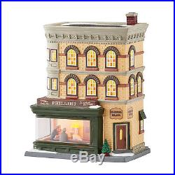 Dept 56 Christmas In The City CIC Nighthawks Diner New 2016 4050911