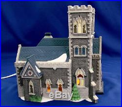Dept 56 Christmas In The City Cathedral Church Of St. Mark 55492 Retired 1993
