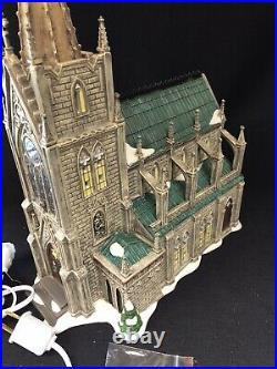 Dept 56 Christmas In The City Cathedral Of St Nicholas SIGNED 2379/3500 Spec Ed