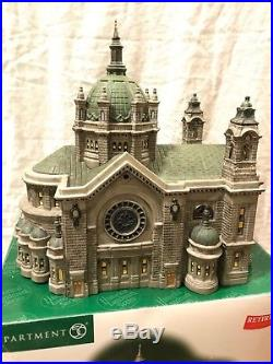 Dept 56 Christmas In The City Cathedral Of St. Paul 58930 Retired, Nib