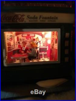 Dept 56 Christmas In The City Coca Cola Soda Fountain