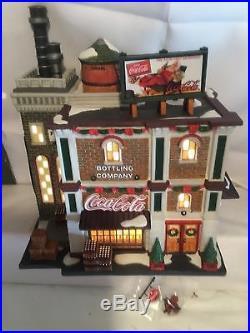Dept 56 Christmas In The City Coca Cola Soda Fountain 59221