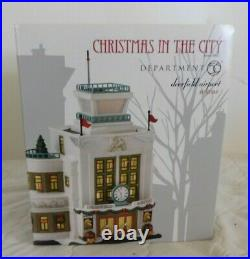 Dept 56 Christmas In The City DEERFIELD AIRPORT New 4030344 CIC