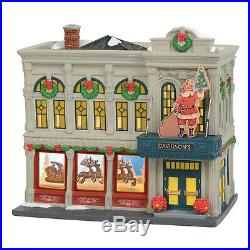 Dept 56 Christmas In The City Davidsons Department Store CIC # 6003057 New 2019