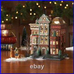 Dept 56 Christmas In The City EAST VILLAGE ROW HOUSES SET 59266 DEALER STOCK-NEW