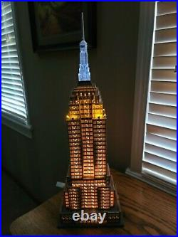 Dept. 56 Christmas In The City Empire State Building Retired