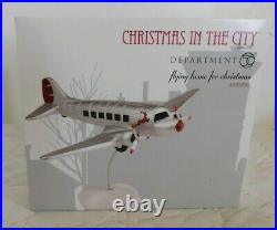 Dept 56 Christmas In The City FLYING HOME FOR CHRISTMAS New 4030350