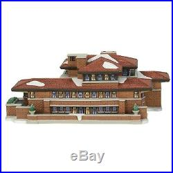 Dept 56 Christmas In The City Frank Lloyd Wright Robie House 6000570 Lights Up