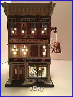 Dept 56 Christmas In The City HAMMERSTEIN PIANO CO