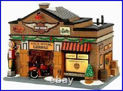 Dept 56 Christmas In The City HARLEY DAVIDSON GARAGE 4035565 DEALER STOCK-NEW