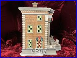 Dept 56 Christmas In The City Hudson Public Library NEW 56.58942