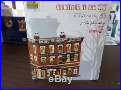 Dept 56 Christmas In The City Jacobs Pharmacy