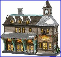 Dept 56 Christmas In The City LINCOLN STATION 6003056 DEALER STOCK-NEW IN BOX