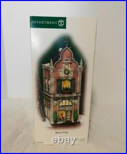 Dept 56 Christmas In The City MILANO OF ITALY New CIC 56.59238