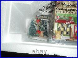 Dept 56 Christmas In The City Miller & Sons Hardware & Garden Center NIB