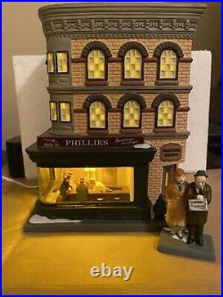 Dept 56 Christmas In The City NIGHTHAWKS # 4050911 Rare PLUS Accessory