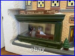 Dept 56 Christmas In The City Nighthawk Building Rare Sample Retired Free Ship