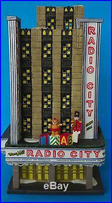 Dept 56 Christmas In The City- Radio City Music Hall- #58924- EUC