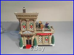 Dept 56 Christmas In The City Regal Ballroom Ltd Ed Numbered Animated