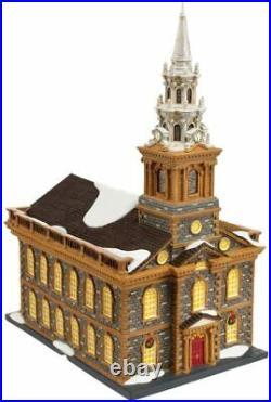 Dept 56 Christmas In The City ST. PAUL'S CHAPEL 4020173 DEALER STOCK-NEW IN BOX