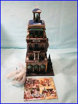 Dept 56 Christmas In The City Series 2000 Paramount Hotel Very Rare New 56.68911