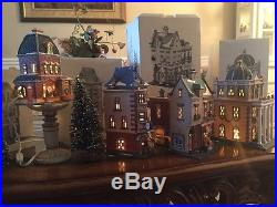 Dept 56 Christmas In The City Series Lot Of 4