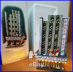 Dept 56 Christmas In The City Series Radio City Music Hall #58924 In Box
