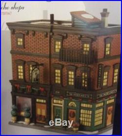 Dept. 56 Christmas In The City Series Soho Shops #4030347 NIB