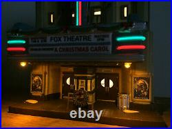 Dept 56 Christmas In The City THE FOX THEATRE NEW IN BOX Retired and Rare