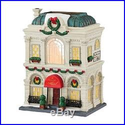 Dept. 56 Christmas In The City THE GRAND HOTEL MIB