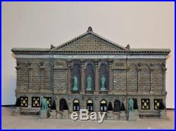Dept 56 Christmas In The City The Art Institute of Chicago Mint 56.59222
