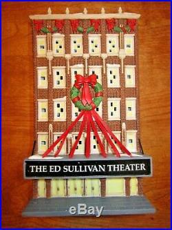 Dept 56 Christmas In The City The Ed Sullivan Theater Rare Sample