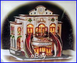 Dept 56 Christmas In The City The Majestic Theater 56.58913 Mint Limited Edition