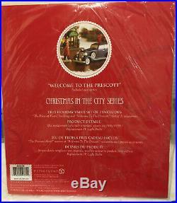 Dept. 56 Christmas In The City The Prescott Hotel #805536 NIB Retired
