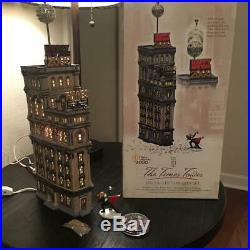 Dept. 56 Christmas In The City Times Square 2000 The Times Tower Special Edition