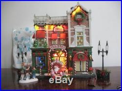 Dept 56 Christmas In The City Visiting Santa At Finestroms