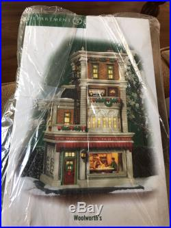 Dept 56 Christmas In The City Woolworth's #59249 Brand New, Rare