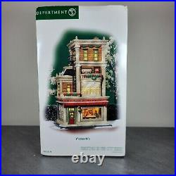 Dept 56 Christmas In The City Woolworth's Store 59249 Very Rare New In Box