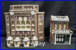 Dept 56 Christmas In The City Yankee Stadium & Pub CUTE Christmas In The City