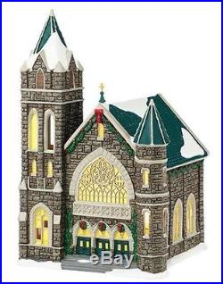 Dept 56 Christmas In the City Church of the Advent BRAND NEW for 2015