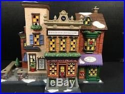 Dept 56 Christmas In the City Series 5th Avenue Shoppes 59212 Village