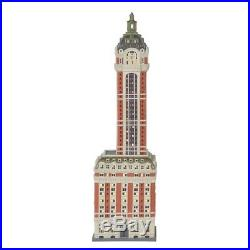 Dept 56 Christmas In the City Singer Building #6000569 BRAND NEW 2018 Free Ship