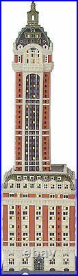 Dept 56 Christmas In the City THE SINGER BUILDING 6000569 DEALER STOCK-NEW N BOX