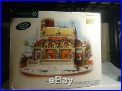 Dept 56 Christmas at Lakeside Park Pavilion