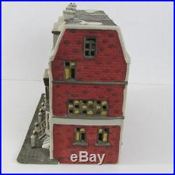 Dept 56 Christmas in The City Sutton Place Brownstones Retired 5961-7